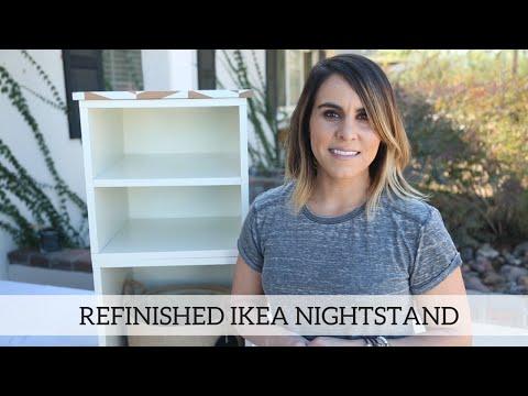 Refinished Ikea Nightstand - Home Decor DIY