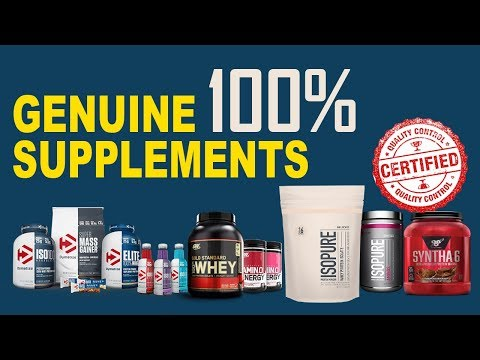 How to buy 100 percent genuine supplements in India 2018-Dymatize | BSN | ON| ISO Pure| Nitro Tech