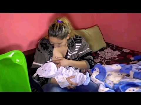 Lactation period (feed the baby) - Nursing tutorial video: Episode 16
