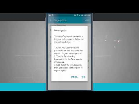 Samsung Galaxy S6 Tips - Using the Fingerprint Scanner