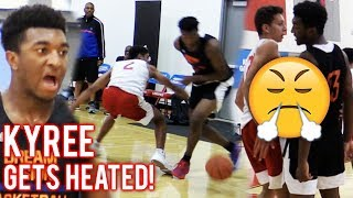 Kyree Walker GETS HEATED In LA! Game Goes DOWN TO THE WIRE!