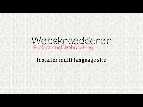 Joomla - Installer multi language site