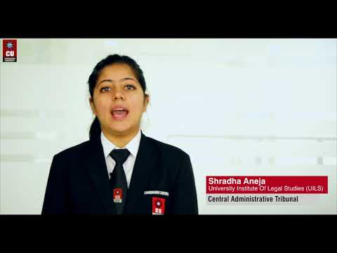 Law Placements at Chandigarh University   Central Administrative Tribunal