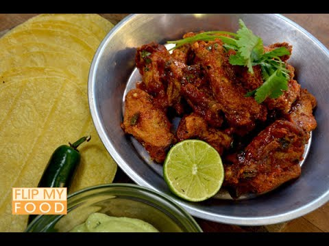 Mexican Hot Wings with Yum Yum Sauce