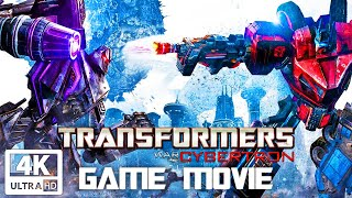 TRANSFORMERS: WAR FOR CYBERTRON All Cutscenes (Game Movie) 4K 60FPS Ultra HD
