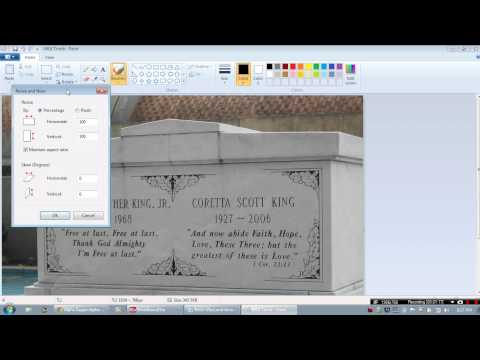 How to Resize an Image with Microsoft Paint