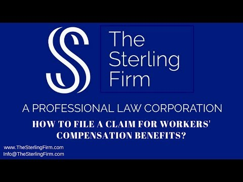 HOW TO FILE A CLAIM FOR WORKERS' COMPENSATION BENEFITS?