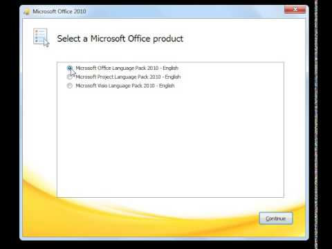 Microsoft Office 2010 Language Packs Download (All Languages). Change the language