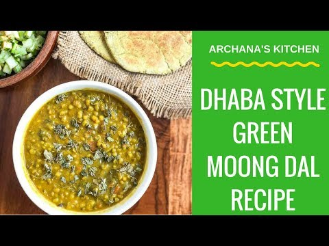 Dhaba Style Green Moong Dal Makhani - North Indian Recipes by Archana's Kitchen