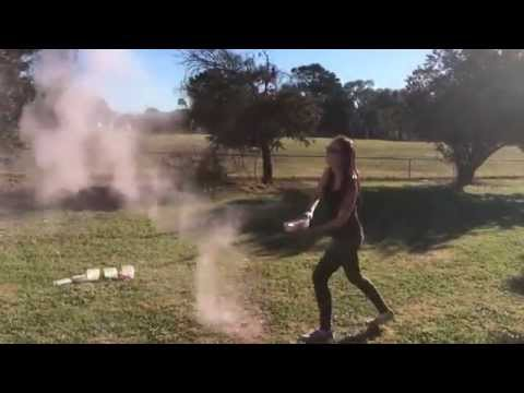 Holi Powder - Throwing Experimentation