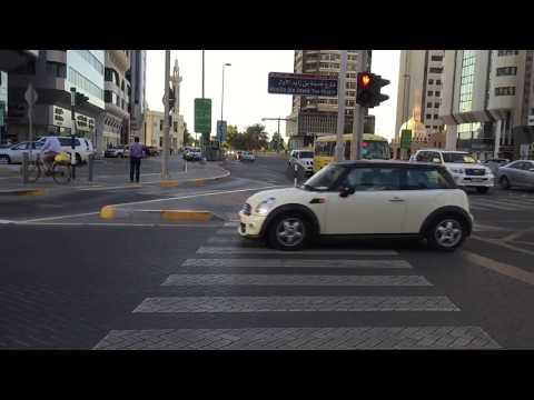 Strict Traffic Rules in Dubai   Crossing Roads in Dubai & Abu Dhabi   Zebra Crossing
