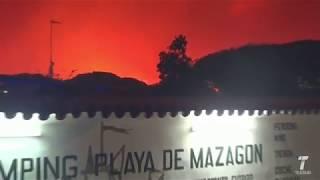 Resumen del incendio de Moguer