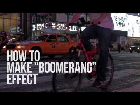 Lifehack: create a boomerang effect with VSDC Free Video Editor