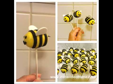 Busy Bees Cakepops