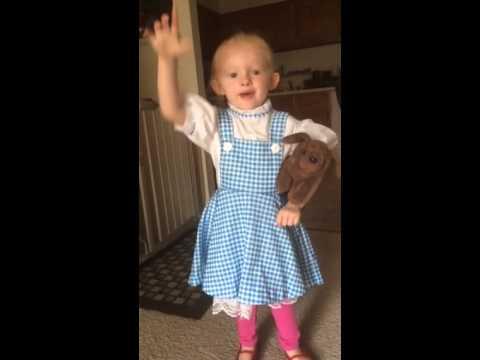 Dorothy dress up 5-15