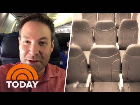 The Middle Plane Seat May Be The Best Soon With Revolutionary Design   TODAY