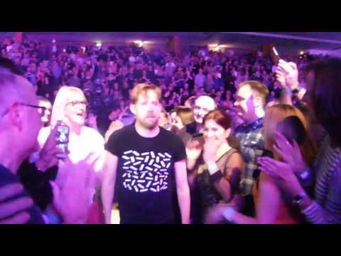 Audience participation at Kaiser Chiefs gig at the Brighton Centre 28/02/17