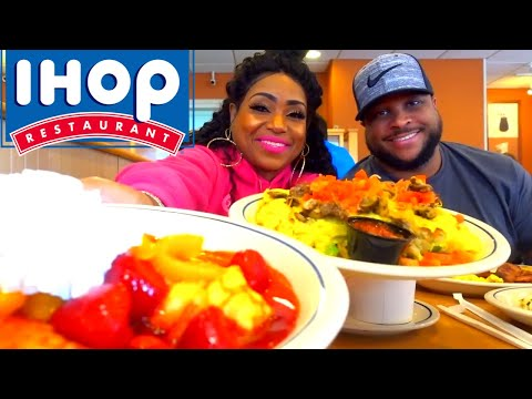 IHOP Big Steak Omelette, Pancakes and Crepes and Family Values Chat