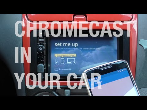 How to install Chromecast in your Car | Android Auto Alternative