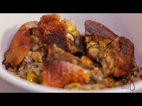 Andrew Zimmern Cooks: Thanksgiving Stuffing