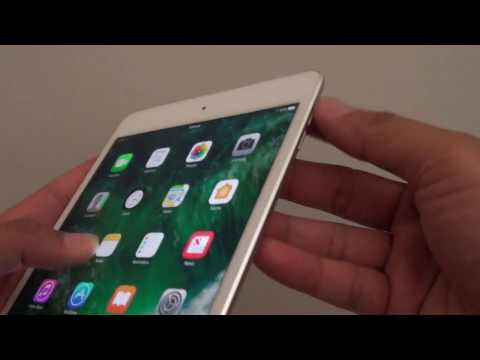 iPad Mini 4: How to Hard Reset / Reboot