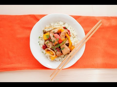 Easy Jamaican Jerk Sauce | Pork & Pineapple Stir Fry Recipe