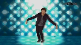 Alex Aiono Tries Dance Moves | Radio Disney