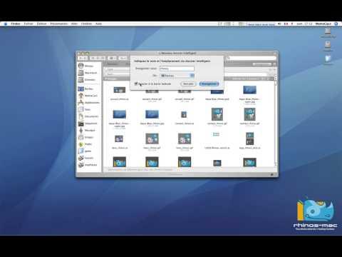 35 • Créer un dossier intelligent • Mac OS X Tiger (tutoriel vidéo)