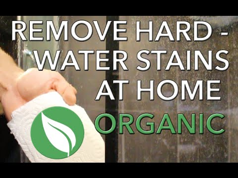 How to remove hard water stains at home organically | Home remedy
