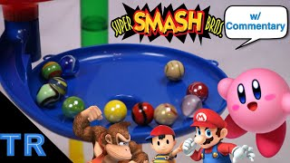 Elimination Marble Race: N64 Super Smash Bros Battle | Toy Racing
