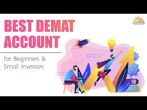 Best Demat Account for Beginners and Small Investors