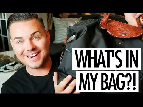 WHAT'S IN MY TRAVEL BAG?! | LONGCHAMP LE PILAGE