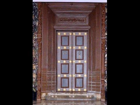 Tamil Nadu Wooden Main Door Design 2