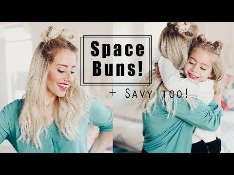 HOW TO do Space Buns!!   Twist Me Pretty