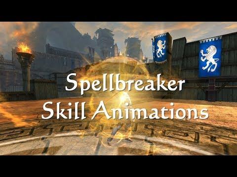 GW2 Spellbreaker (Warrior) Elite Spec Skill Animations
