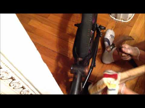 How to install a mid bottom bracket