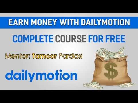 How To Earn Money From Dailymotion Urdu/Hindi Tutorial Part 2