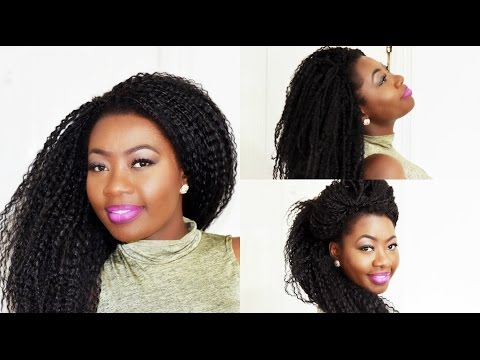 DIY:How to Do Crochet Wig With the Best Technique to Conceal the Net Beneath.. MUST WATCH !!!