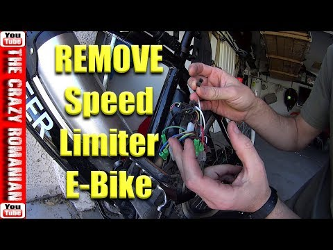 How to remove speed limiter Chinese Electric Bicycle - Ancheer