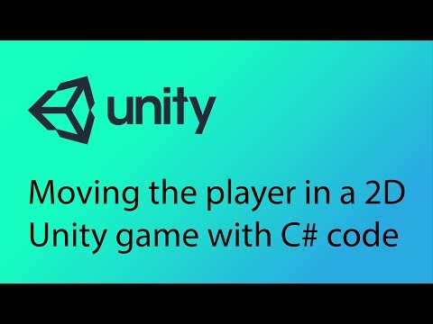 Unity 2D Game Design Tutorial 9 - Introduction to scripting and collision detection in Unity with C#