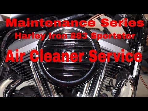 Sportster Air Cleaner Maintenance