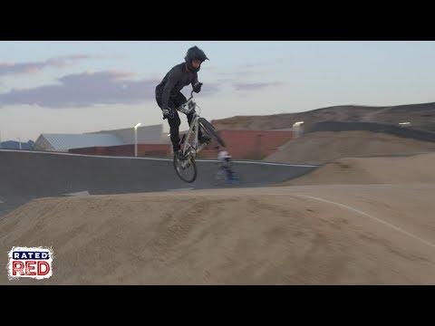 Jason Carnes' Berm Academy hits Whitney Mesa BMX Track