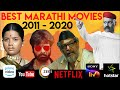 Top 10 Best Marathi Movies 2011-2020 available on Youtube, Zee5, Netflix, Amazon Prime | MCR TV