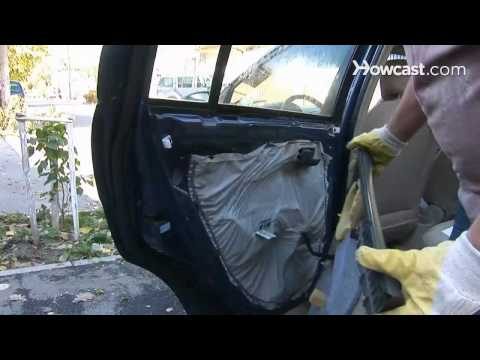 How to Fix a Car Window