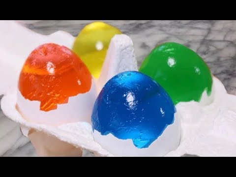 DIY WATER JELL-O SURPRISE EGGS 🐣
