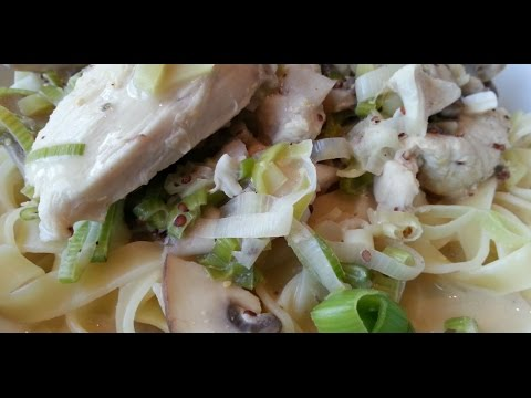 Low Fat Creamy Mustard Chicken (Slimming Recipe)