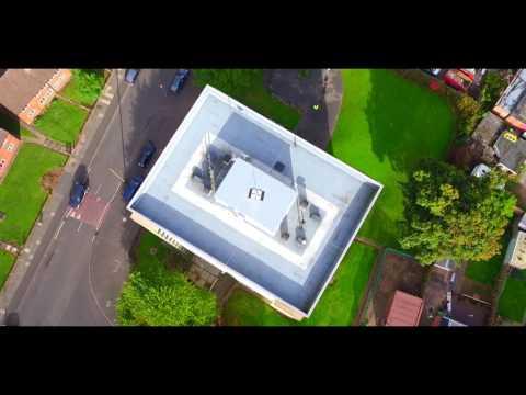 Liquid Waterproofing Flat Roof Refurbishment for Birmingham City Council
