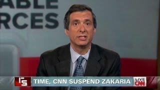 TIME, CNN suspend Fareed Zakaria