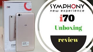 New  2018 Symphony i70 unboxing & Review bangladesh 📱