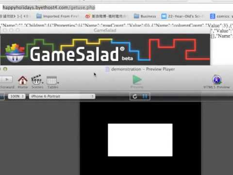 Setting Up Your Own Gamesalad Server P5 of 5